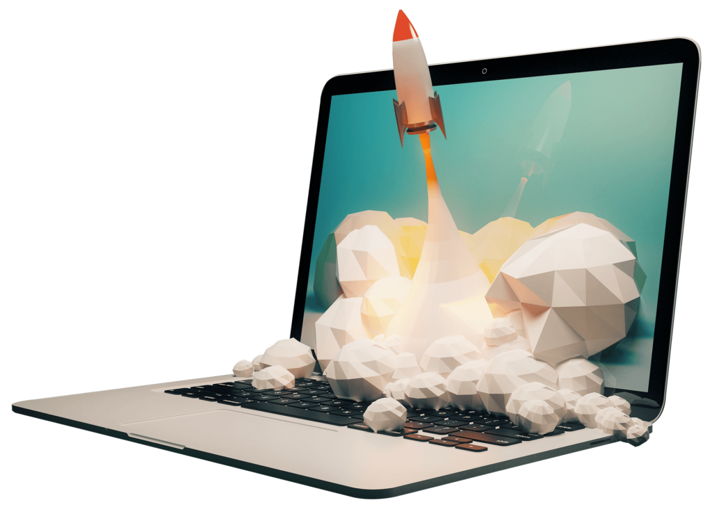 Laptop rocket